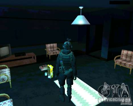 Солдат из CoD MW 2 для GTA San Andreas третий скриншот