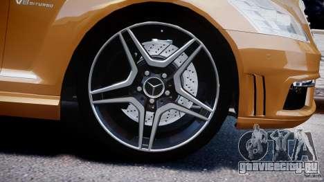 Mercedes-Benz S63 AMG [Final] для GTA 4 двигатель
