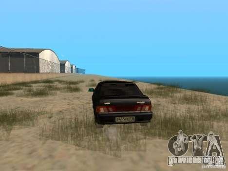 Ваз 2115 Light Tun V.1.1 для GTA San Andreas вид сзади слева