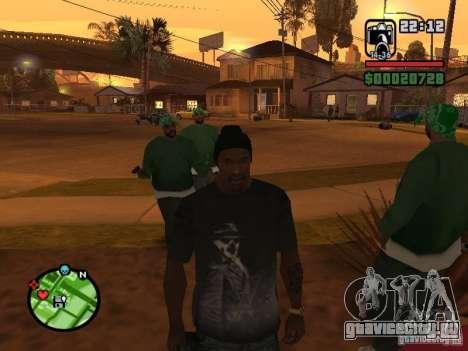 Футболка Watchmen Rorschach для GTA San Andreas третий скриншот