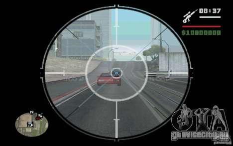 Снайпер мод v.1 для GTA San Andreas третий скриншот