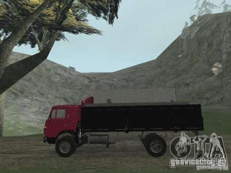 КамАЗ 5325 для GTA San Andreas вид справа