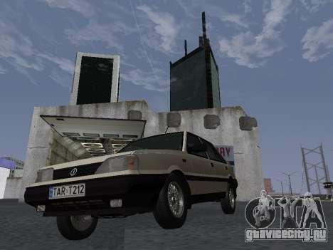 FSO Polonez Atu 1.4 GLI 16v для GTA San Andreas вид изнутри
