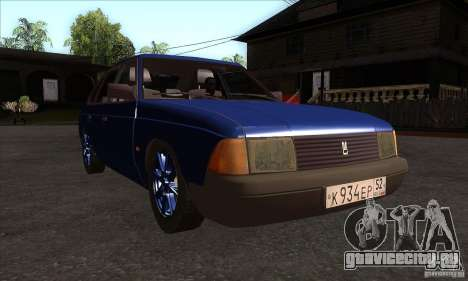 АЗЛК 2141 People Edition для GTA San Andreas вид сзади