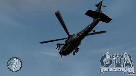 U.S. Air Force (annihilator) для GTA 4 вид справа