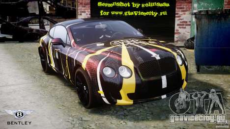Bentley Continental SS 2010 Gumball 3000 [EPM] для GTA 4 двигатель