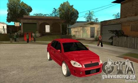 GTA IV Premier для GTA San Andreas вид сзади