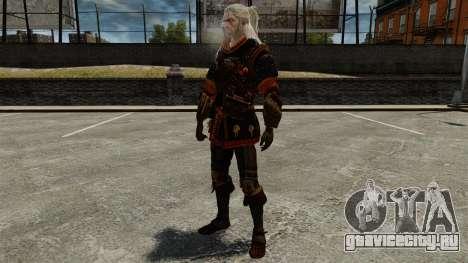 Геральт из Ривии v4 для GTA 4 пятый скриншот