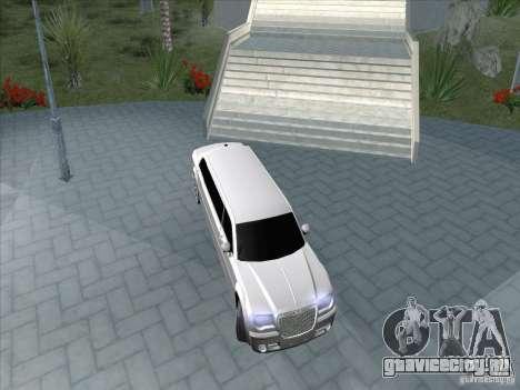 Chrysler 300C Limo для GTA San Andreas вид сзади