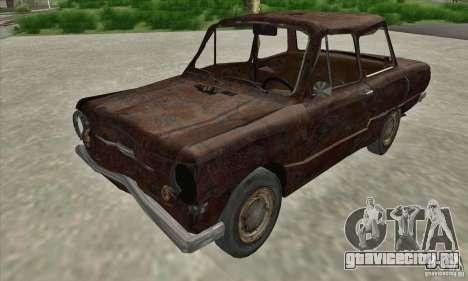 ЗАЗ 968 Заброшенный v.2 для GTA San Andreas вид слева