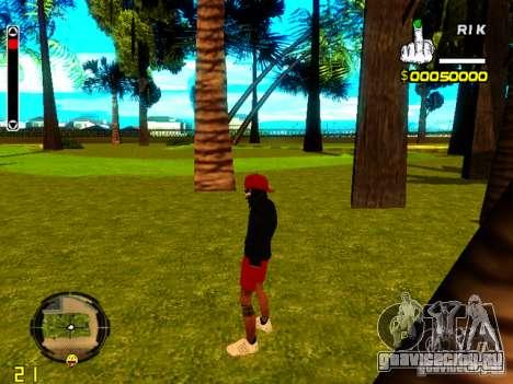 Skin бомжа v1 для GTA San Andreas третий скриншот