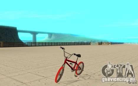 Zeros BMX RED tires для GTA San Andreas