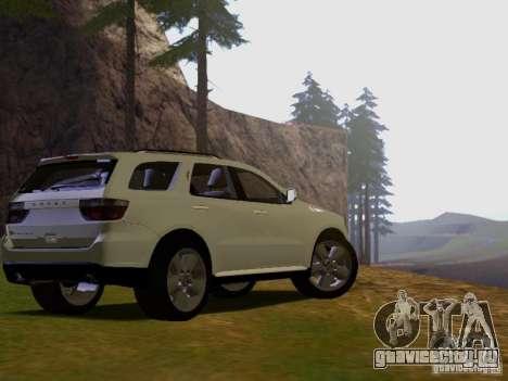 Dodge Durango 2012 для GTA San Andreas вид слева