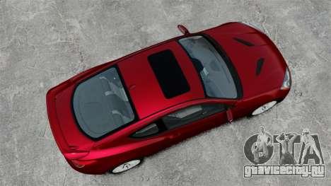Hyundai Genesis Coupe 2013 для GTA 4 вид справа
