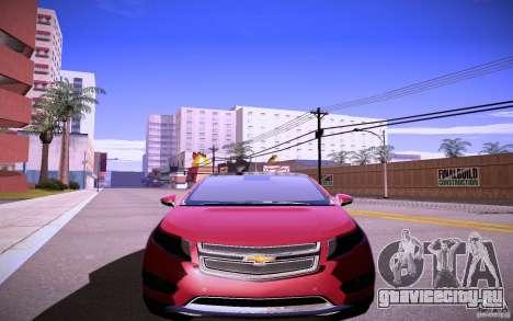 Chevrolet Volt для GTA San Andreas вид слева