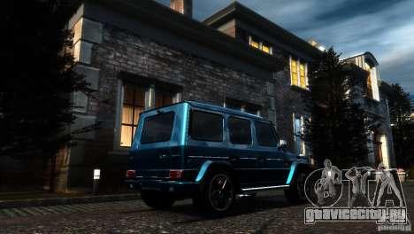 Mercedes-Benz G65 AMG [W463] 2012 для GTA 4 вид изнутри