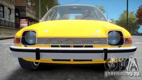AMC Pacer 1977 v1.0 для GTA 4 вид сбоку