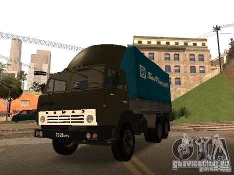 КамАЗ 5320 для GTA San Andreas вид сбоку