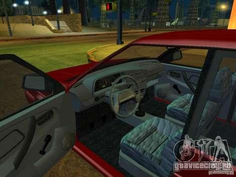 ВАЗ 2114 Универсал для GTA San Andreas вид сзади