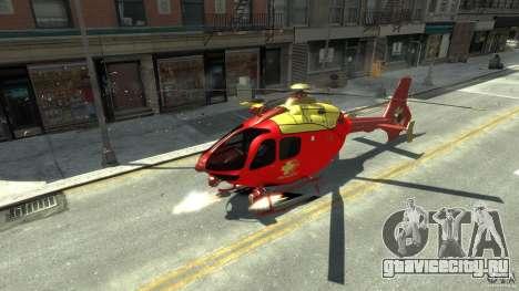 Medicopter 117 для GTA 4 вид слева