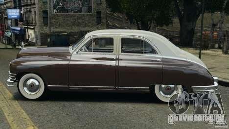 Packard Eight 1948 для GTA 4 вид сзади слева