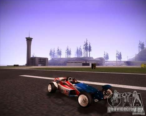 Track Mania Stadium Car для GTA San Andreas