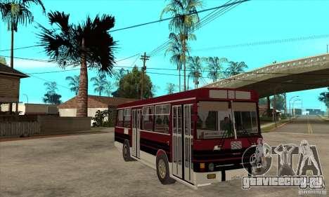 ЛАЗ 4202 для GTA San Andreas вид сзади