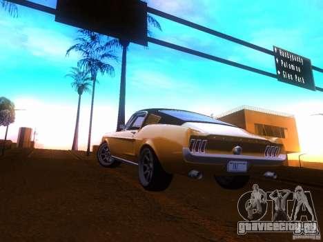 Ford Mustang 1967 GT Tuned для GTA San Andreas вид слева