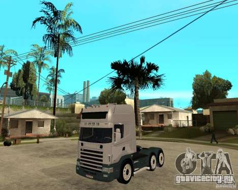 Scania 164L 580 для GTA San Andreas
