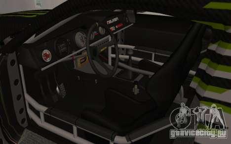 Ford Mustang GT Falken Monster 2010 v2.0 для GTA San Andreas вид сзади