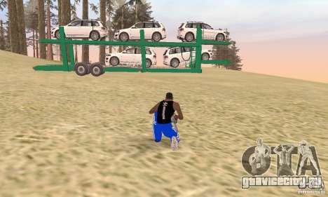 Car Transporter для GTA San Andreas