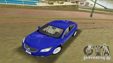 Buick Regal для GTA Vice City вид слева