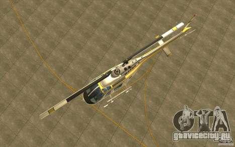Bell 206 B Police texture4 для GTA San Andreas