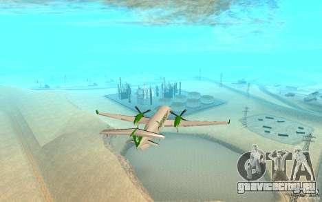 Beechcraft B1900D для GTA San Andreas вид сзади слева