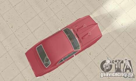 Pontiac Firebird 1968 для GTA San Andreas вид справа