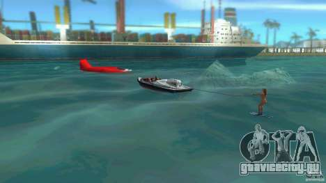 Ski Speeder для GTA Vice City вид сзади слева
