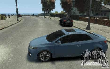 Kia Forte Koup SX для GTA 4 вид слева