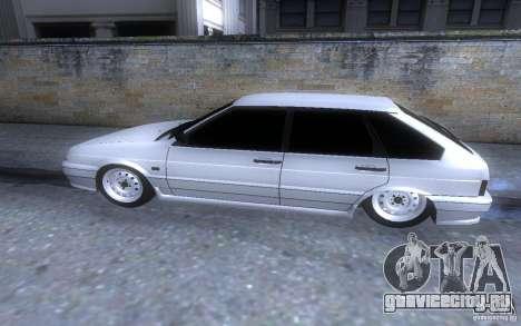 ВАЗ 2114 LT для GTA San Andreas вид слева