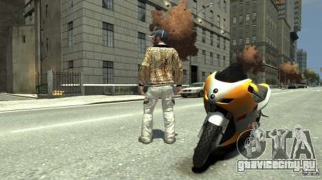 White clothes pack для GTA 4 второй скриншот