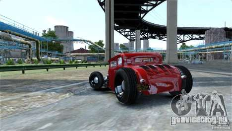 Smith 34 Hot-Rod Restyling для GTA 4 вид изнутри