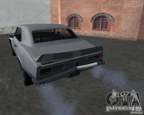 Chevrolet Camaro SS для GTA San Andreas вид сбоку