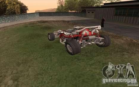 Bandito для GTA San Andreas вид сзади слева