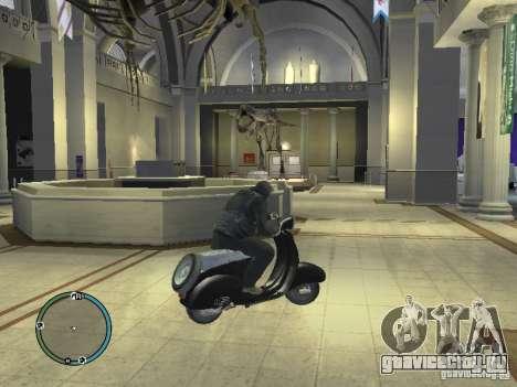 Вятка мотороллер для GTA 4 вид сзади слева