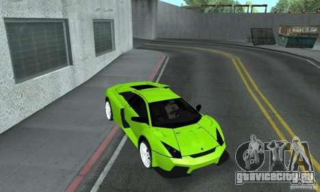 Lamborghini Murcielago Tuned для GTA San Andreas вид сбоку