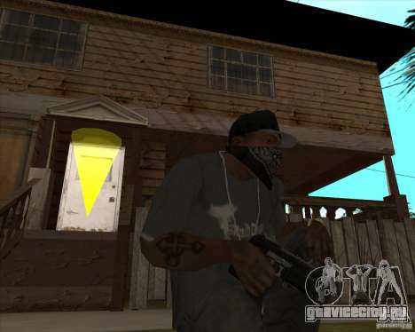 Resident Evil 4 weapon pack для GTA San Andreas