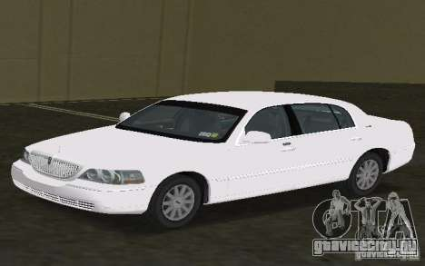 Lincoln Town Car для GTA Vice City