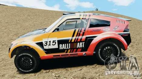 Mitsubishi Pajero Evolution MPR11 для GTA 4 вид слева