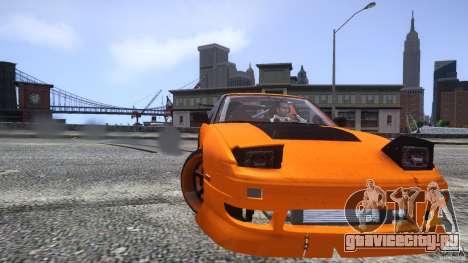 Nissan 240SX Korch для GTA 4 салон