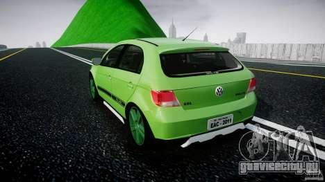 Volkswagen Gol Rallye 2012 v2.0 для GTA 4 вид сзади слева