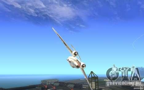 Antonov 74 для GTA San Andreas вид справа